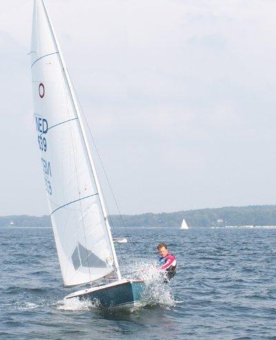 Stefan de Vries Olympiajol samenwerking SailSupply.nl